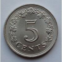 Мальта 5 центов. 1976