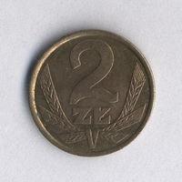 Польша, 2 злотых 1983 г.