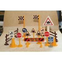 Дорожные знаки. Игрушечные