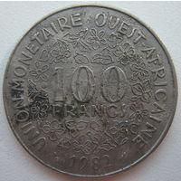 Западная Африка 100 франков 1982 г. (g)
