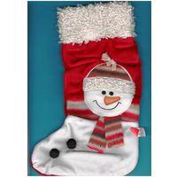W: Сапог Санта Клауса (Дед Мороз), размер 33 х 18 см