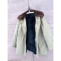 Спецодежда куртка с натуральным мехом