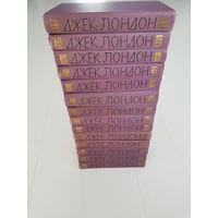 ДЖЕК ЛОНДОН. Собрание сочинений в 14 томах. Библиотека Огонек. 1961 год