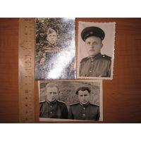 Сборный лот фото солдат