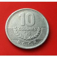 27-34 Коста-Рика, 10 колонов 2008 г.