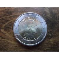 Монако 2 евро 2011