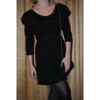 """Обворожительное вечернее, чёрное платье ампир в готическом стиле от Bestwill,-""""Виолетта"""",размер-(42/44),-на рост 164-172.POLAND."""
