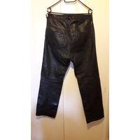Брюки кожаные, штаны натуральная кожа, с подкладкой. Модель как классические джинсы, бренд BRANDO. 37 р-р. Обхват талии 97см, длина по боковому шву 107см. Удобная оплата, доставка везде.