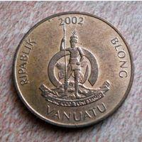Вануату. 2 вату 2002 г.