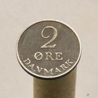 Дания 2 оре 1956 цинк