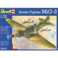 Сборные модели  Revell  Самолет Soviet Fighter MiG-3,маштаб1/72 ,артикул 04372