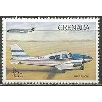 Гренада. Самолёт Апач-235. 1976г. Mi#783.