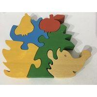Деревянный пазл развивающая игрушка