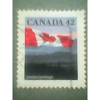 Канада. Стандарт. 1991г. гашеная