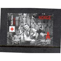 Норвегия.Ми-1876. 150 летие организации Красного креста.2015.