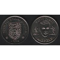 Official England Squad. Midfield. David Platt -- 1996 Official England Squad (f02)