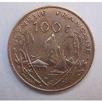 Французская Полинезия, 100 франков, 1976