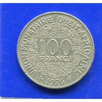 Западная Африка 100 франков 1976