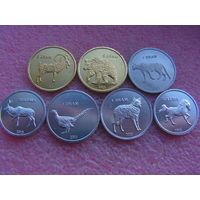 Нагорный Карабах набор 7 монет 2013 UNC