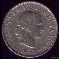 5 раппен 1957 год Швейцария
