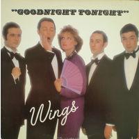 Wings, Goodnight Tonight, SINGLE 1979