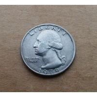 США, квотер (25 центов) 1979 г.