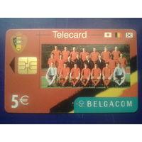 Бельгия футбольный клуб 5 евро
