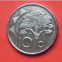 22-15 Намибия, 10 центов 2002 г.
