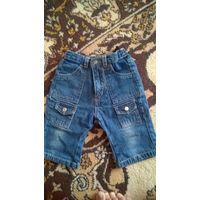 Стильные джинсики-капри на малыша