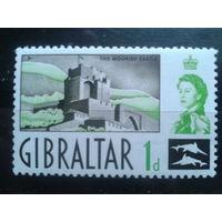 Гибралтар 1960 крепость, королева Елизавета 2**