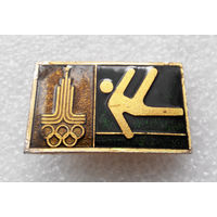 Значок. Олимпийские виды спорта. Гимнастика #0363