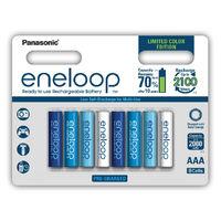Аккумуляторы AAA Panasonic Eneloop Ocean BK-4MCCE 800mAh 8шт (ограниченная серия)