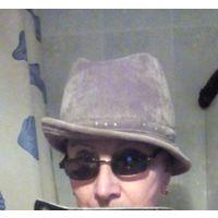 Шляпа шапка 57 размер,хлопок, вельвет, оливковый приглушённый цвет