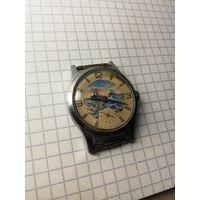 """Часы """"Уран"""" расписные очень интересные за вашу цену!!!"""