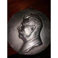 Барельеф И.В.Сталина,1938 год,редкость,чугун,с 1 рубля