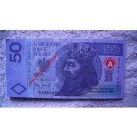 Польша 50 злотых. сувенир. односторонние. распродажа