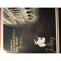 Пластинки: опера Девушка с Запада.  Дель Монако