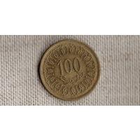 Тунис 100 миллимов 2005