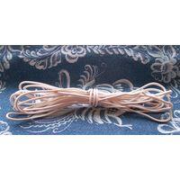 Моток толстого медного кабеля (провода)