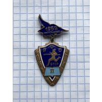 Знак ДСО Буревестник БССР 1959 г. тяжёлый