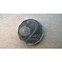 Чехия 2 кроны, 2003г. (sb-1)