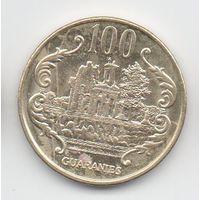 РЕСПУБЛИКА ПАРАГВАЙ  100 ГУАРАНИ 1996