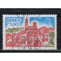 Франция 1977 СЕПТ Деревня в Провансе #2024