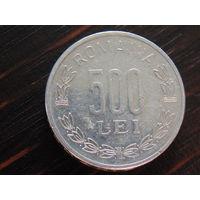 Румыния 500 лей 1999г.